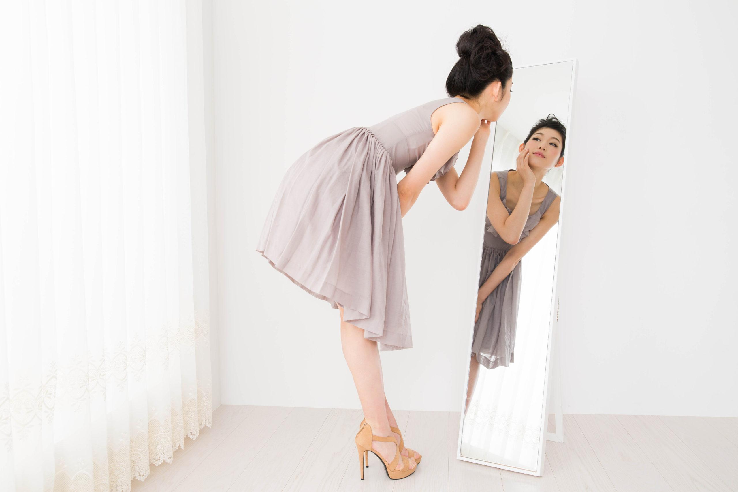【鏡を見つめて意識改革】